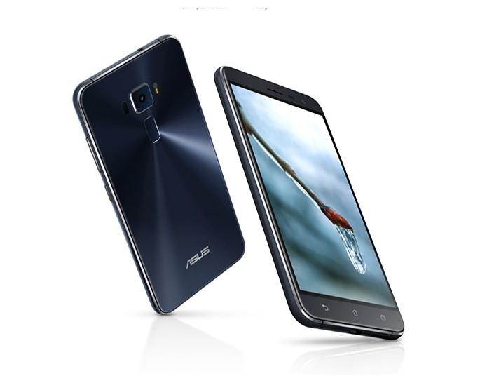 Zenfone 3 é o modelo mais básico do trio apresentado pela Asus (Foto: Reprodução/Elson de Souza)