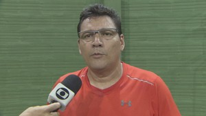 Rui Souza; Tênis; Amapá (Foto: Reprodução/Rede Amazônica no Amapá)