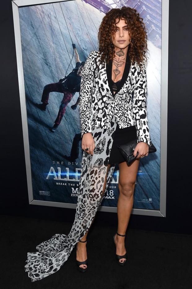 Nadia Hilker em première de filme em Nova York, nos Estados Unidos (Foto: Jamie McCarthy/ Getty Images/ AFP)