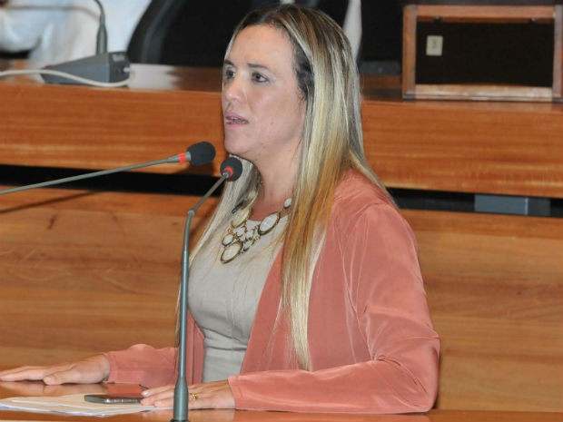 Presidente da Câmara Legislativa do DF, deputada Celina Leão (PDT) (Foto: Carlos Gandra/CLDF/Divulgação)