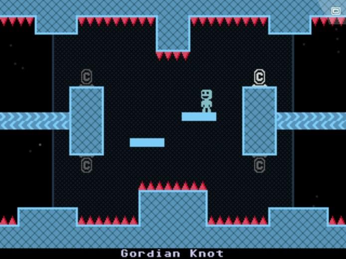 VVVVVV é um jogo de plataforma com dificuldade insana (Foto: Divulgação)