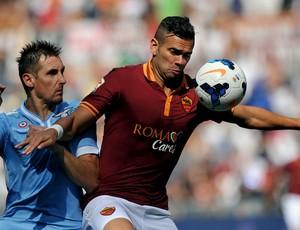 leandro castan klose roma x lazio (Foto: AFP)
