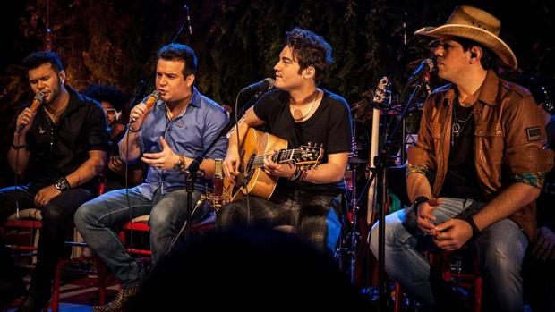 Fernando e Sorocaba e Marcos e Belutti se unem para um grande show, em Londrina (Foto: Divulgação)