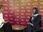 Malala, ganhadora do Nobel da Paz, diz que Emma Watson foi inspiração