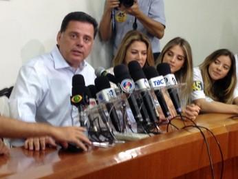 Governador reeleito em GO, Marconi diz que 'prevaleceu a boa proposta' (Luísa Gomes/G1)