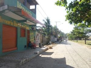 Bairro é localizado em zona longe do centro da cidade (Foto: Camila Oliveira/ TV Santa Cruz)