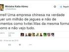Interesse da China por jegue do Brasil é melhoramento genético, diz ministra