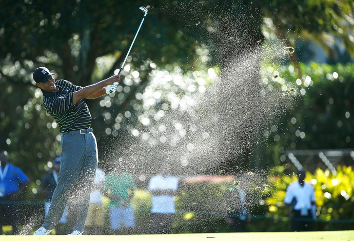 Tiger Woods, Golfe na Flórida (Foto: Scott Helleran / Getty Images)