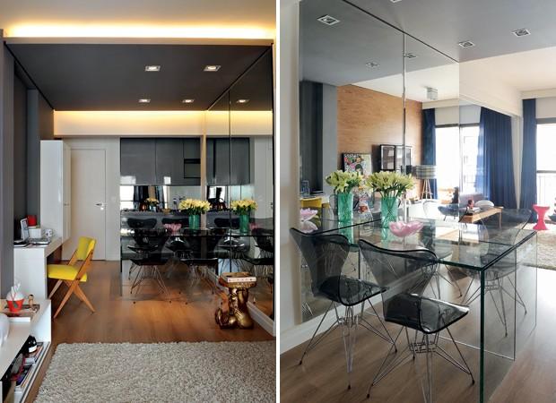 Sala de jantar pequena casa e jardim sala de jantar for Mesas para apartamentos pequenos