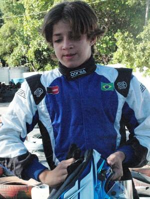 Sérgio Crispim Filho, piloto de kart (Foto: Lucas Barros / Globoesporte.com/pb)