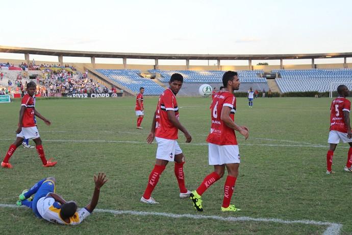River-PI x Palmas (Foto: Abdias Bideh/GloboEsporte.com)