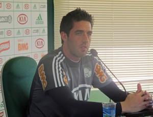 Bruno, goleiro do Palmeiras (Foto: Diego Ribeiro/GLOBOESPORTE.COM)