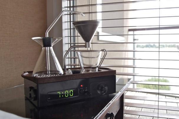 Despertador que prepara café (Foto: Divulgação)