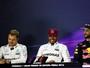 """Com """"ajuste de Nico"""", Lewis larga em 1º e ressalta: """"Três disputas, três poles"""""""