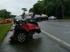 Acidentes deixam cinco mortos em rodovias federais no Paraná