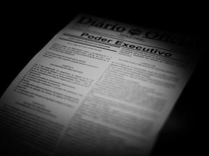 LDO foi sancionada nesta quarta-feira, no Diário Oficial (Foto: Jonathan Lins/G1)