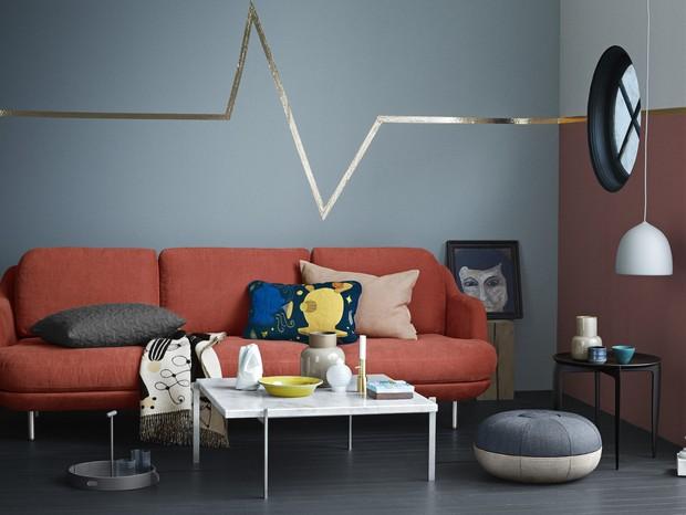 escandinavo-sala-de-estar (Foto: Fritz Hansen)
