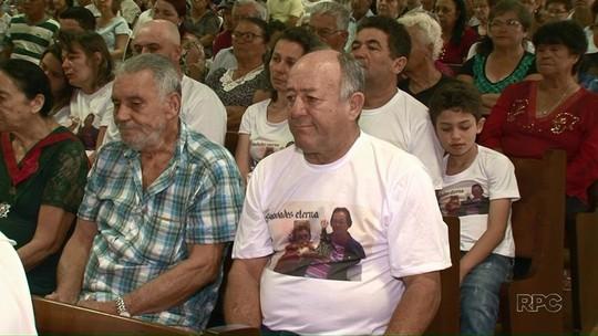 Missa de 7° dia de vítimas do acidente de ônibus é realizada em Altônia