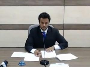 Prudêncio será prefeito por 30 dias enquanto não houver eleições  (Foto: Prefeitura de Brusque/Reprodução)
