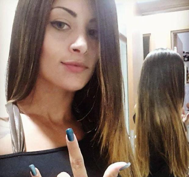 Aline Riscado muda a cor dos cabelos (Foto: Arquivo Pessoal)