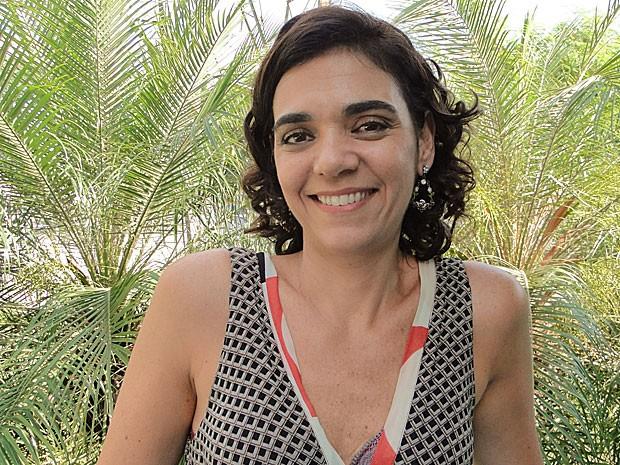Solange Badim fala sobre Delzuite: 'Mulher de garra e trabalhadora' (Foto: Salve Jorge / TV Globo)