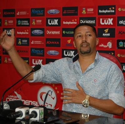 campinense, marquinhos marabá (Foto: Iago Bruno / GloboEsporte.com/pb)