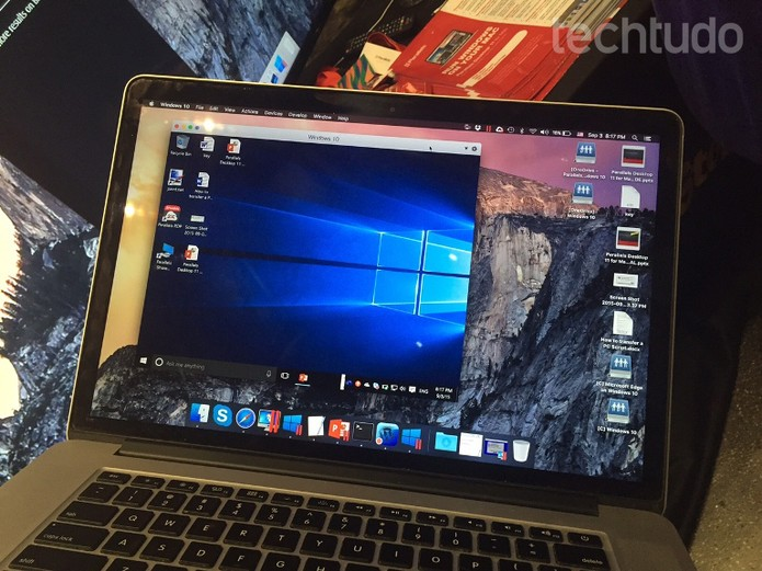 Software permite usar Windows em MacBook (Foto: Laura Martins/Techtudo)