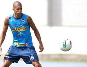 Doria no treino do Botafigo (Foto: Marcos Tristão / Ag. O Globo)