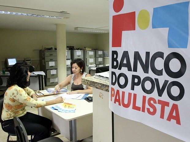 Banco do Povo já fez mais de R$ 400 mil em empréstimos no 1º trimestre de 2013 (Foto: Sergio Menezes/Divulgação)