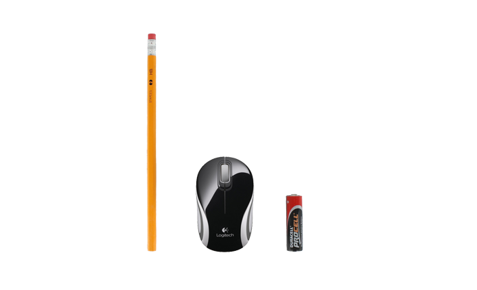 Wireless Mini Mouse M187 é ideal para crianças (Foto: Divulgação/Logitech)