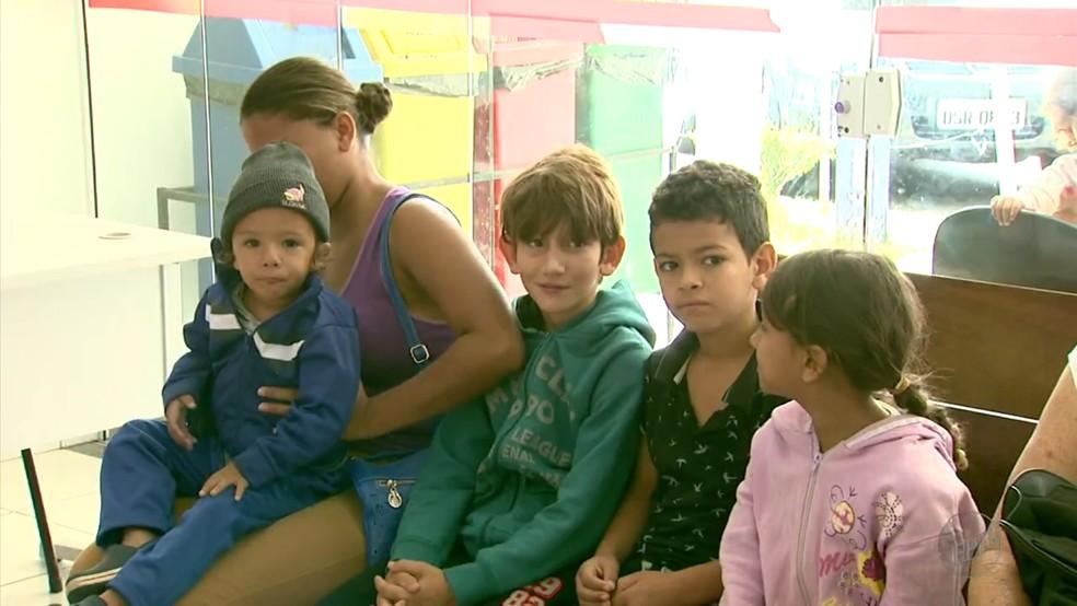 Virose atinge adultos, idosos e, principalmente, crianças em Poços de Caldas (MG) (Foto: Reprodução PETV/ Marcelo Rodrigues)