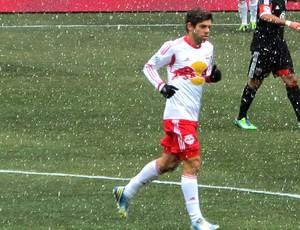 Juninho jogo Nova York DC United (Foto: Gustavo Rotstein)
