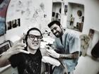 Pe Lanza faz nova tatuagem e compartilha foto: 'Rasgando o braço'