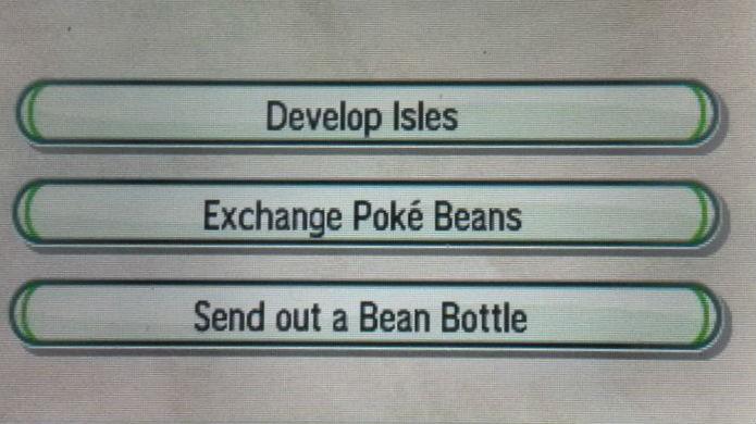 Pokémon Sun e Moon: clique em Develop Isles (Foto: Reprodução / Thomas Schulze)