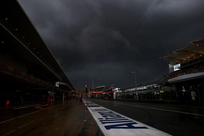 Chuva Fórmula 1 GP dos Estados Unidos F1 Austin (Foto: Mark Thompson / Getty Images)