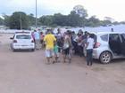 Mesmo travados, carros são furtados em frente a cemitério em Porto Velho