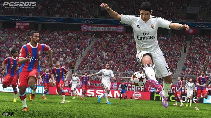 Real Madrid e Bayern de Munique se enfrentam em nova imagem de PES 2015 (Foto: PlayStationer)