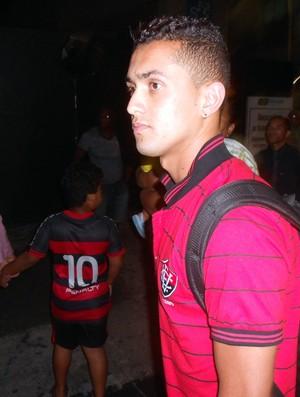 Felipe, meia do Vitória (Foto: Thiago Pereira)