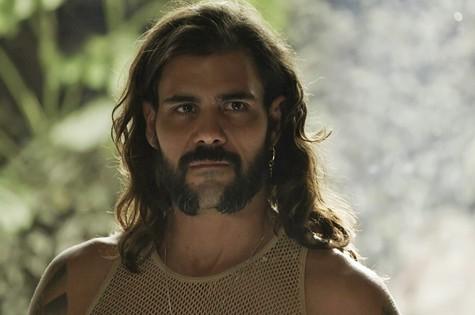 'O outro lado do paraíso': Juliano Cazarré é Mariano (Foto: TV Globo)