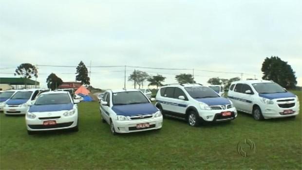 Taxistas protestam contra nova licitação (Foto: Reprodução)