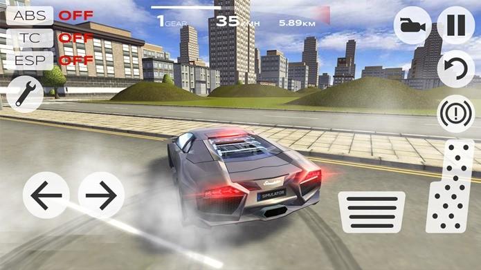 Neste game, é preciso ter cuidado para não amassar esses carros incríveis (Foto: Divulgação)