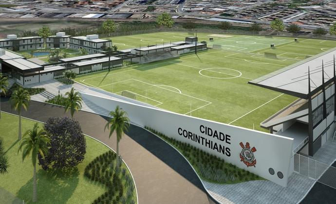 Corinthians CT Base (Foto: Divulgação)