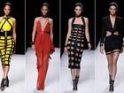 Kendall, Karlie, Rosie... Balmain apresenta desfile cheio de tops na semana de moda de Paris