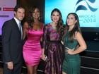 Premiação tem Bruna Marquezine e mais famosos no Rio