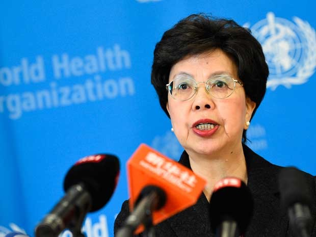 Diretora-geral da OMS, Margaret Chan. (Foto: Alain Grosclaude / AFP Photo)