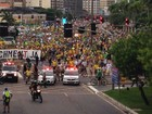 SC tem novos protestos contra a corrupção na tarde deste domingo
