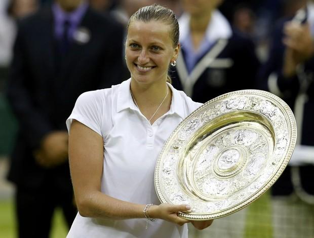 Petra Kvitova campeã Wimbledon (Foto: Reuters)