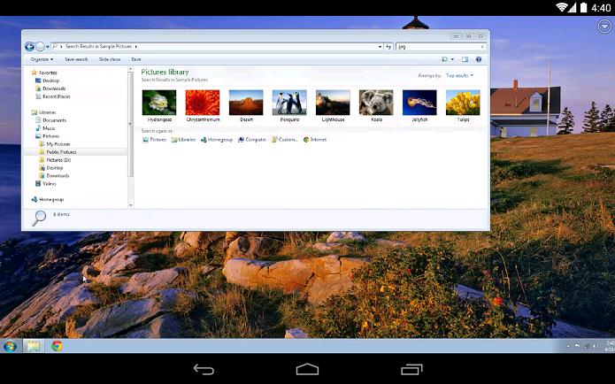 Chrome Remote Desktop é um aplicativo para acessar e controlar PCs remotamente (Foto: Divulgação)