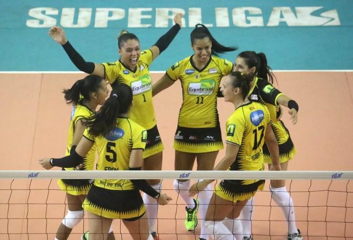 Rio do Sul Praia Clube Superliga Feminina vôlei (Foto: Clóvis Eduardo Cuco/Rio do Sul)