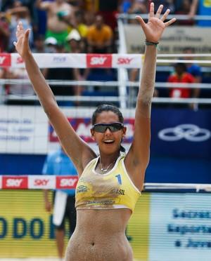Duda foi um dos destaques da competição (Foto: FIVB)